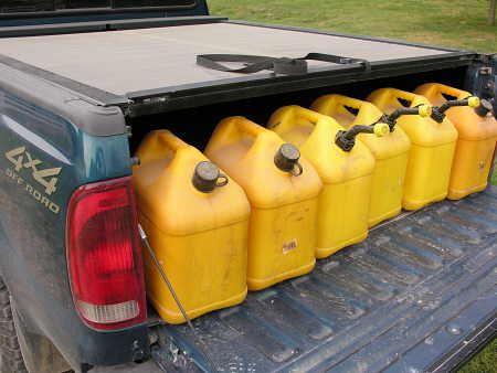 Diesel fuel containers