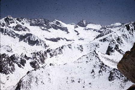 Mount Gould behind Kearsarge Pinnacles