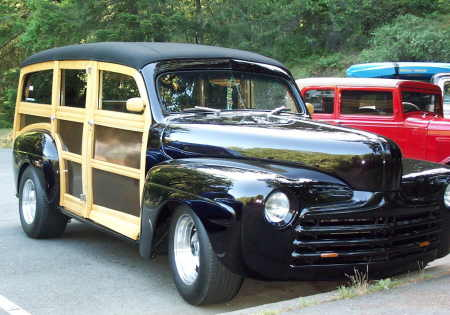 1946 Ford Super Deluxe Woody
