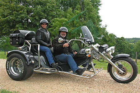 Mark and Sandra on Rewaco Trike