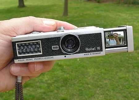 Rollei 16 film camera