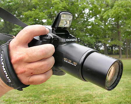Olympus IS-3 Zoom Lens Reflex (ZLR) camera
