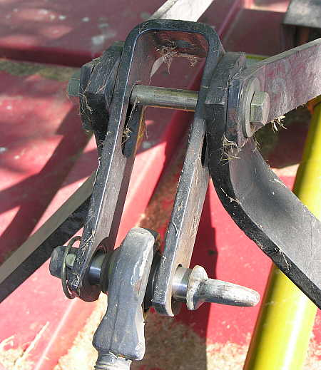 Upper link of 3-point hitch