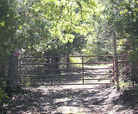 Fire lane gate