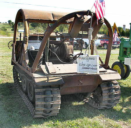 1965 Bombardier log skidder