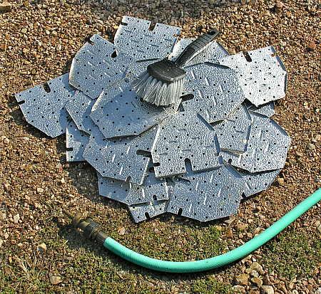 Aluminum floor plates