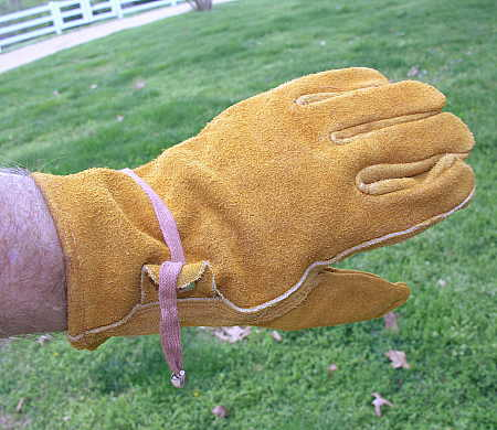 Some gloves are inappropriate