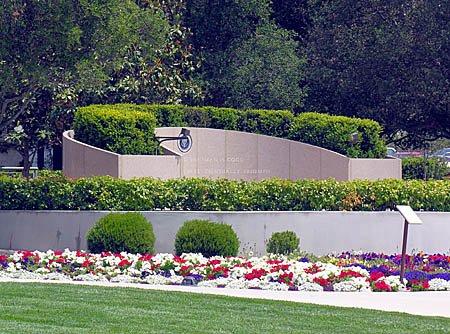 Burial site of President Ronald Reagan
