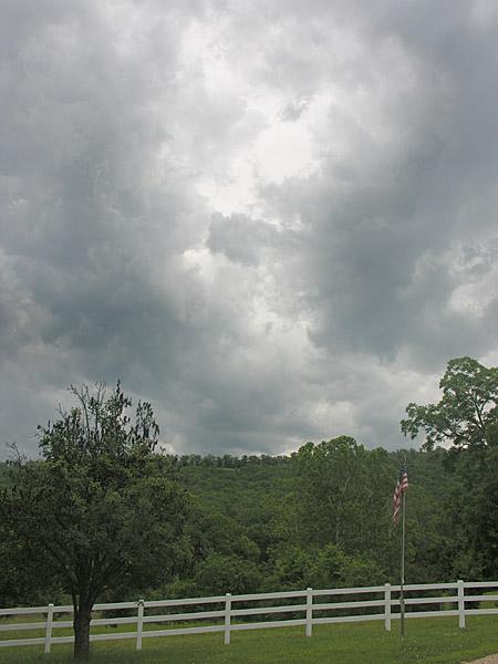 Threatening weather