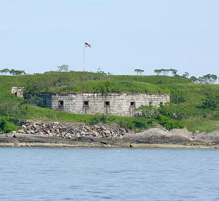 Land based civil war era fort