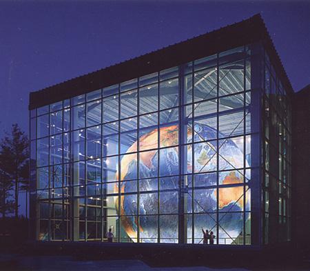DeLorme globe named Eartha