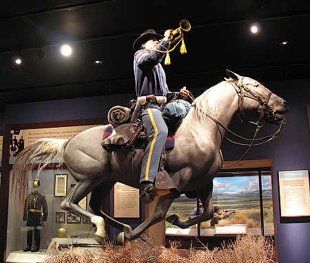 Mounted Cavelryman exhibit