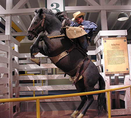 American rodeo exhibit