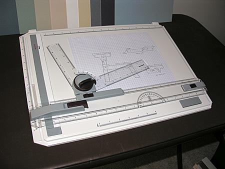 Portable drafting board