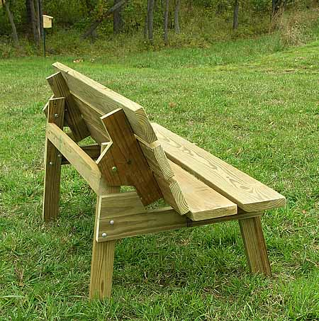 Woodwork Plans Bench With Back PDF Plans